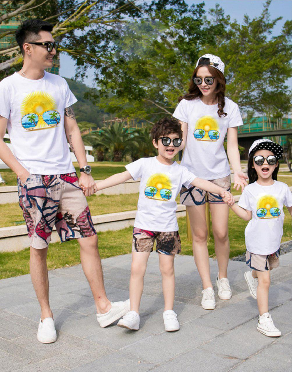 Áo gia đình mùa hè Khúc nhạc mùa hạ