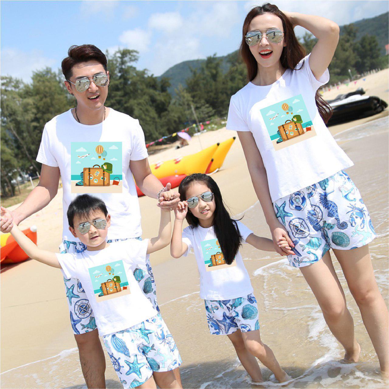 Áo gia đình mùa hè Mùa hè ước mong