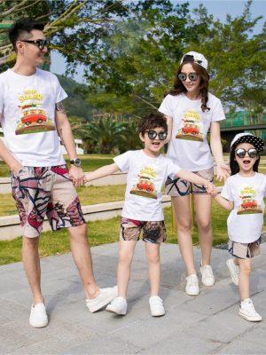 Áo gia đình mùa hè Lời yêu thương