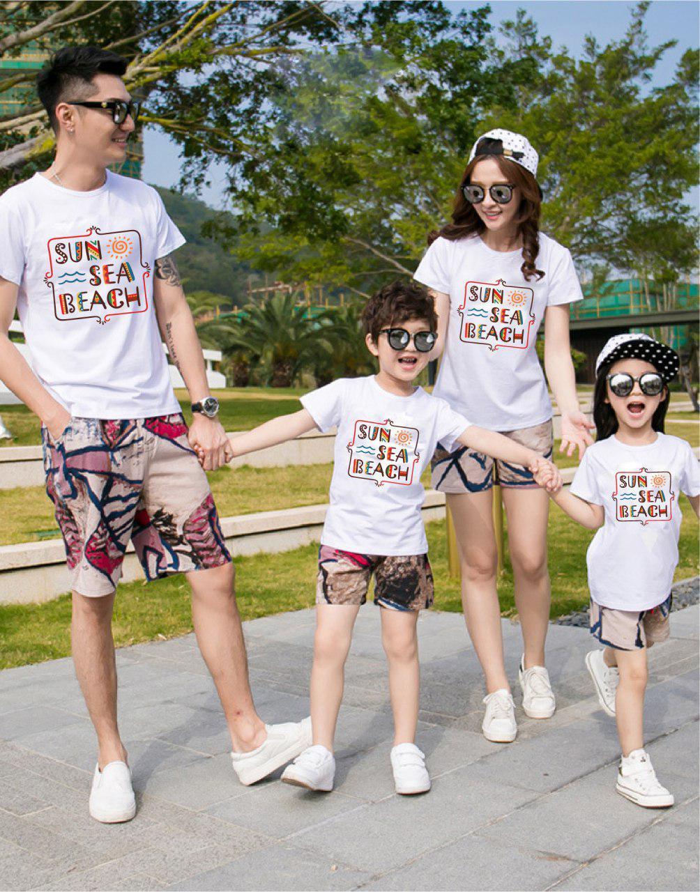 Áo gia đình mùa hè Nắng chợt nhớ